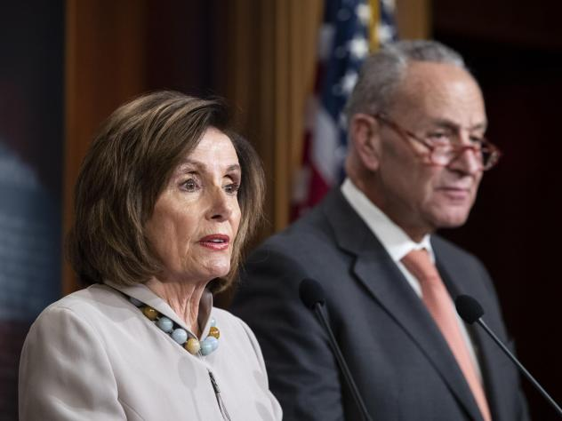 House Speaker Nancy Pelosi and Senate Minority Leader Chuck Schumer on Wednesday released a list of additional items they believe need to be included in the next emergency relief package to respond to the coronavirus.