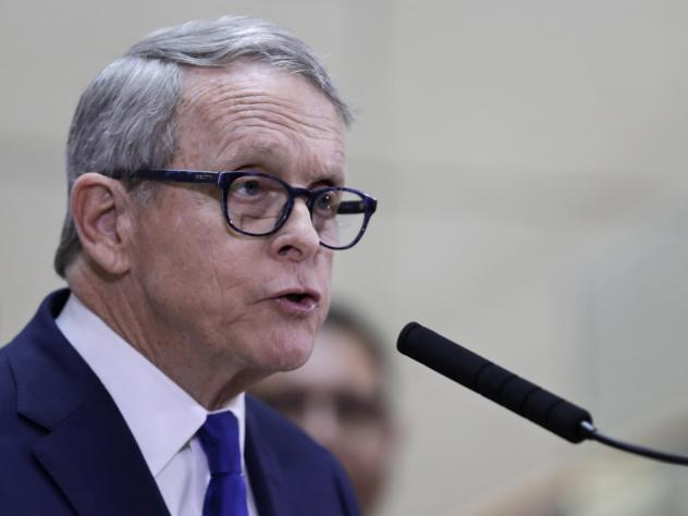Ohio Gov. Mike DeWine addressed his state's coronavirus response in an interview with NPR's <em>Weekend Edition</em> on Saturday.