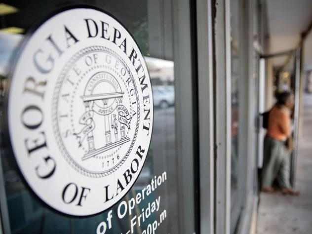 """Kersha Cartwright, a spokeswoman for the Georgia Department of Labor, said the office """"is encouraging employees to work with their employers on a safe return-to-work plan."""""""