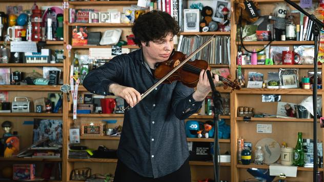 Augustin Hadelich plays a Tiny Desk concert.