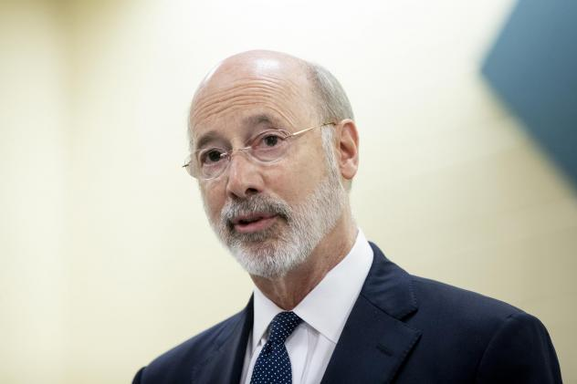 "Pennsylvania Gov. Tom Wolf announced the ""Commonwealth Civilian Coronavirus Corps"" this week. He said it would ideally be a broad program to train workers to test for COVID-19 and conduct contact tracing to monitor infection rates."