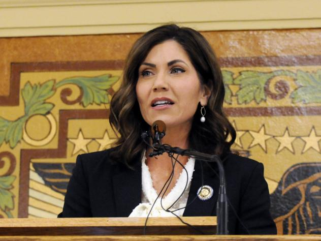 South Dakota Gov. Kristi Noem, who has not issued a statewide stay-at-home order, is demanding that tribal leaders remove roadblocks they say have been put in place to protect reservation residents from the coronavirus pandemic.
