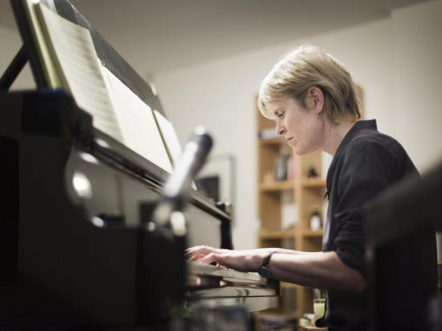 Rachel Portman was the first woman to win an Academy Award for best original score. Her latest album <em>ask the river</em> is her first not written for a film or stage production.