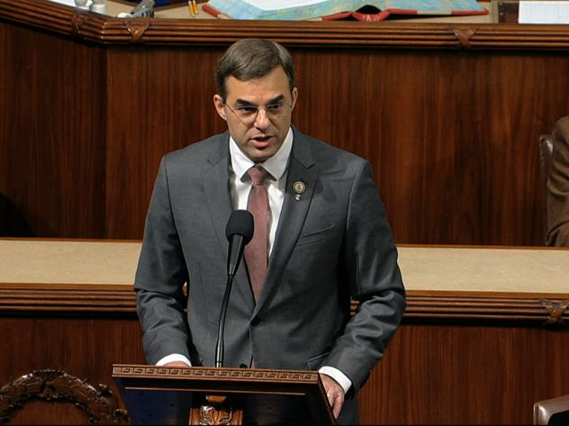 Rep. Justin Amash (I-Mich.) announced on Twitter Saturday that he would not seek out a run on the Libertarian Party ticket. The independent left the Republican party last summer.