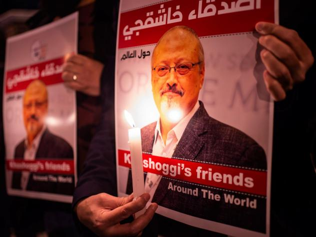 Family of slain journalist Jamal Khashoggi said they forgive his killers, paving the way for a pardon.