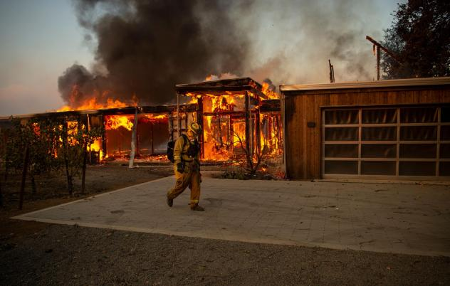 After a series of devastating wildfires, like the 2019 Kincade Fire, California had planned on spending billions to prepare for climate-driven disasters.