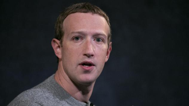 Mark Zuckerberg says Facebook will consider labeling some posts that break its rules, rather than simply taking them down or leaving them up.