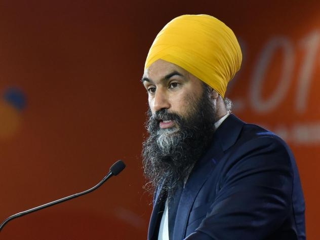 Jagmeet Singh, who heads the left-leaning New Democratic Party, was booted from the House of Commons for the day after calling Bloc Québécois politician Alain Therrien a racist on Wednesday. Therrien had opposed a motion to acknowledge systemic racism