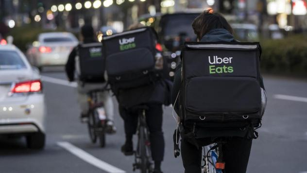 Food delivery has been a bright spot for Uber during the coronavirus pandemic, as people stuck at home are ordering out more.