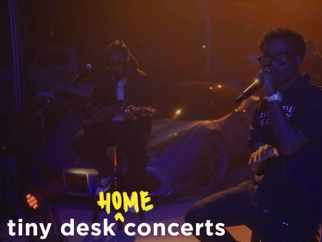 Roddy Ricch plays a Tiny Desk (home) concert.