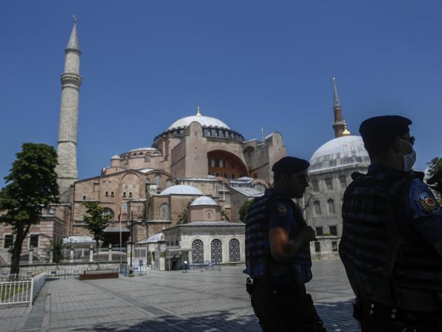 Istanbul's Byzantine-era landmark has been used as a museum since 1934 and is widely regarded as a symbol of peaceful religious coexistence. A court ruling Friday revoked its museum status.