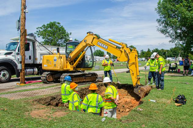 The city of Tulsa, Okla., resumed a test excavation for the 1921 Tulsa Race Massacre Graves Investigation on July 13 at Oaklawn Cemetery in Tulsa.