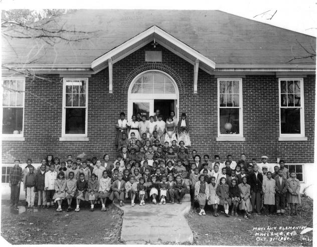 In the early 1900s, educator Booker T. Washington and Sears Roebuck president Julius Rosenwald built schools across the South for African American students. May's Lick Rosenwald School, in Maysville, Ky., was built in 1921, and it has received one of 27