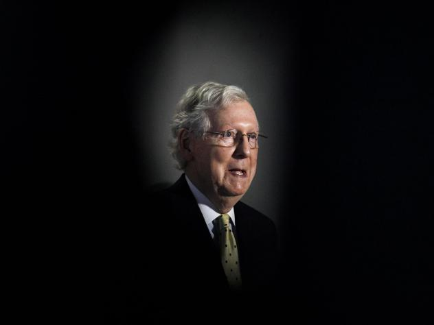 Senate Majority Leader Mitch McConnell will likely preside over the political fight over a vacant Supreme Court seat.