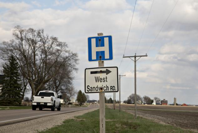 """When the pandemic hit this spring, U.S. rural hospitals lost an estimated 70% of their income as patients avoided the emergency room, doctor's appointments and elective surgeries. """"It was devastating,"""" says Maggie Elehwany of the National Rural Health As"""