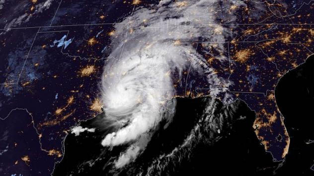 """Hurricane Laura's arrival at the Louisiana coast early Thursday prompted the National Hurricane Center to warn: """"Take action now to protect your life!"""