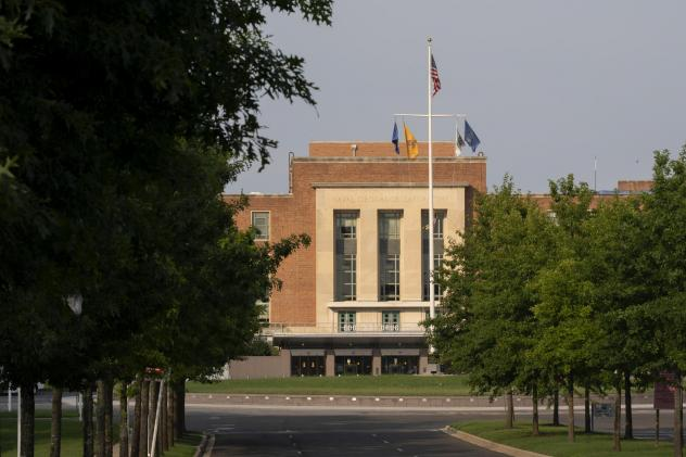The U.S. Food and Drug Administration headquarters in White Oak, Md. The agency this week has removed a top communications official in the wake of misleading claims it made about a treatment for COVID-19.