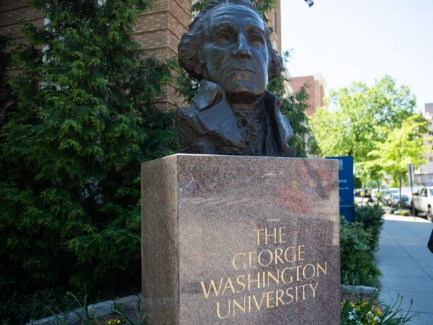 """George Washington University is """"looking into the situation"""" of history professor Jessica A. Krug, after a blog post written under that name said that she had invented her Black Caribbean identity, despite actually being white."""