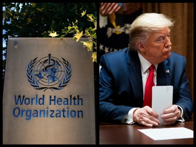 In interviews with Bob Woodward in February and March, President Trump said he recognized the severity of the novel coronavirus — even though he publicly criticized the World Health Organization for not alerting him to the degree of threat.