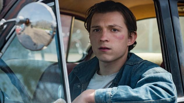 Tom Holland plays Arvin, a young man who refuses to let evil go unpunished, in <em>The Devil All the Time. </em>