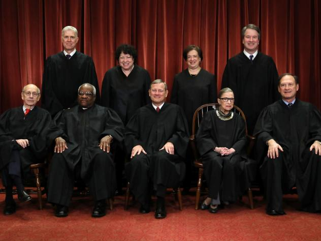 """Chief Justice John Roberts called Ginsburg """"a jurist of historic stature."""""""