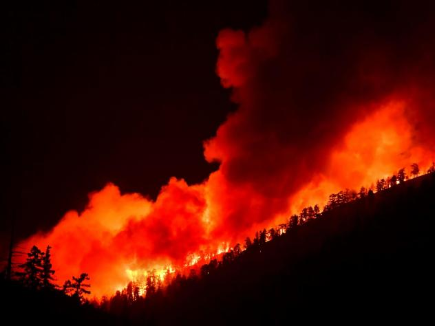 California is preparing for windy, dry weather which is expected to cause critical fire conditions this weekend. Twenty-five major fires are burning throughout the state, including the Bobcat fire in Southern California, pictured on Sept. 21.