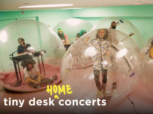 The Flaming Lips perform a Tiny Desk (home) concert.