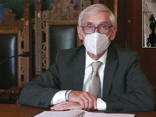 A Wisconsin judge upheld Gov. Tony Evers' order mandating that face coverings be worn in enclosed spaces statewide, save for a few exceptions. A conservative legal group challenged the measure, arguing that Evers overstepped his authority in issuing succ