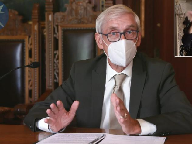 A judge has blocked an emergency order issued last week by Democratic Gov. Tony Evers' administration that caps the capacity of bars and other indoor establishments.