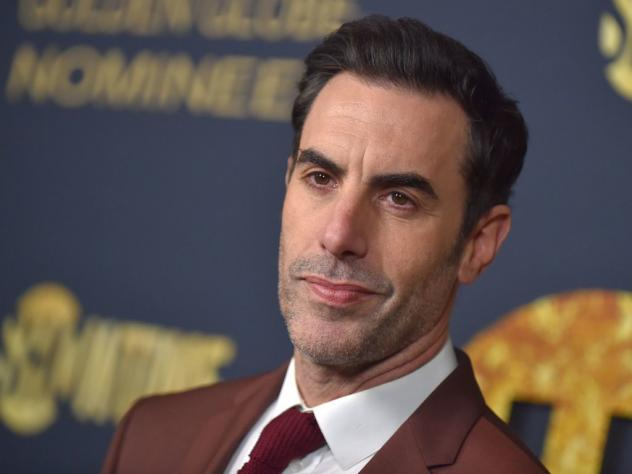 Actor Sacha Baron Cohen, pictured in Los Angeles in Jan. 2019.