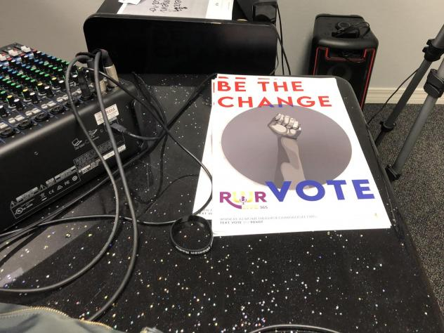 Real Women Radio, an Internet radio station created by and for African American women in Pensacola, Fla., are using these posters to help get out the vote.