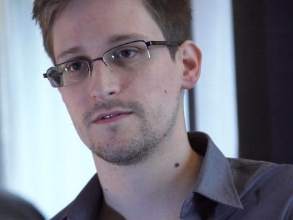 Edward Snowden, seen here in Hong Kong in 2013, is seeking dual Russian-U.S. citizenship. The former contractor for the U.S. National Security Agency revealed details of top-secret surveillance conducted by the NSA.