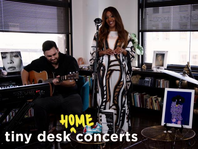 Mickey Guyton plays a Tiny Desk (home) concert.