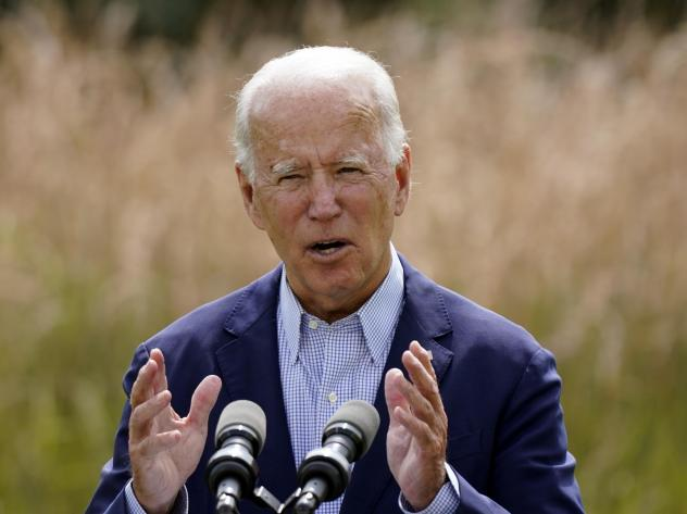 Joe Biden speaks about climate change and wildfires affecting Western states during a speech in Wilmington, Del., on Sept. 14. Although the president-elect has promised an ambitious agenda to tackle climate change, few expect a death knell for the oil in
