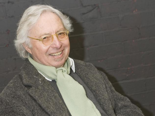 Pianist Harold Budd, seen here during a portrait session in 2011, died after contracting COVID-19.