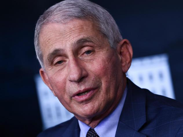 Dr. Anthony Fauci reiterated his plans to publicly take the vaccine when it becomes available to him.