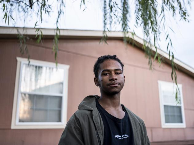 """Williams graduated from high school last spring. He thought he would go straight to college but second-guessed his plan after getting a taste of distance learning. """"I'm terrible at online school,"""" he says."""