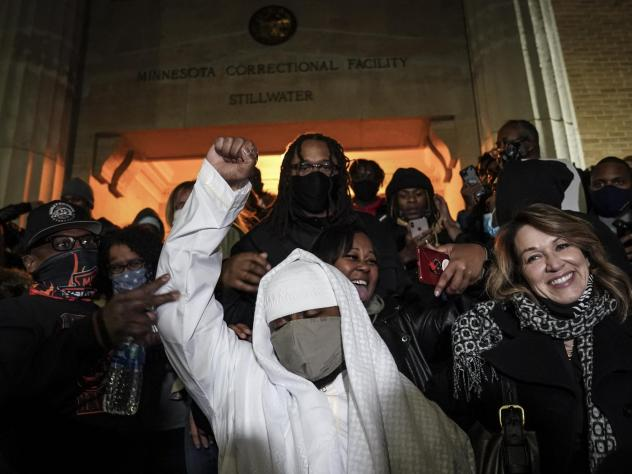 Myon Burrell was released from Minnesota Correctional Facility-Stillwater, Tuesday, following a vote by Minnesota's pardon board commuting his sentence. Burrell, who is Black, was sent to prison for life as a teen in a high-profile murder case that raise
