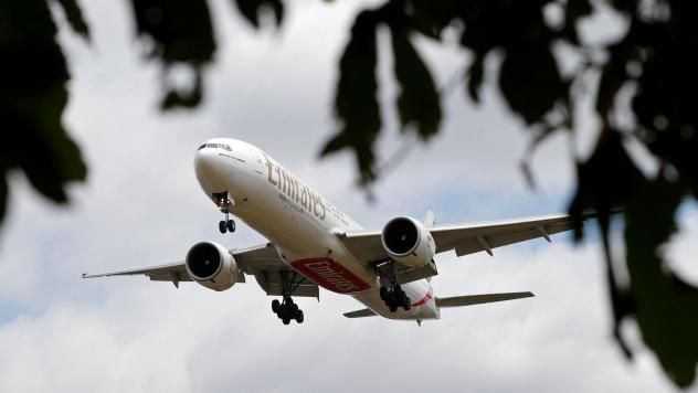A jetliner arrives at London's Heathrow Airport earlier this year. On Wednesday, the U.K.'s highest court reversed a ban on the airport's controversial plans for a third runway.