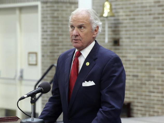South Carolina Gov. Henry McMaster, shown earlier this month, has tested positive for the coronavirus.