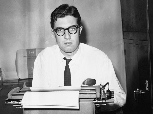 Journalist Neil Sheehan, pictured at the time as a reporter for UPI, died recently at the age of 84.