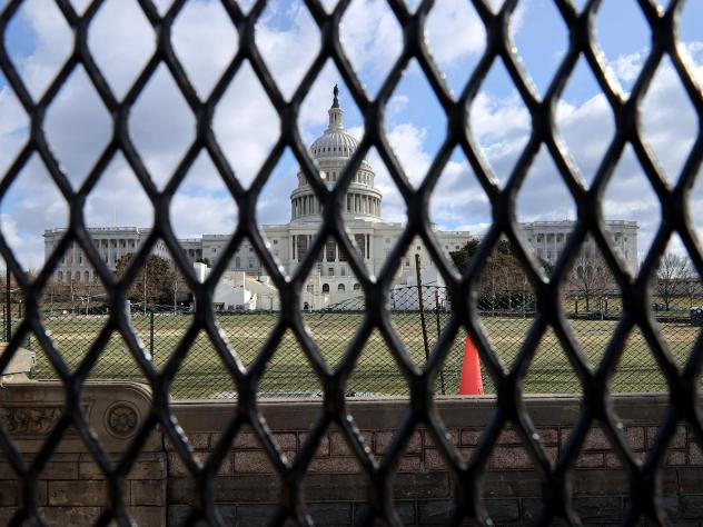 Capitol Police Chief: U.S. Capitol Needs 'Permanent' Wall to Protect Congress