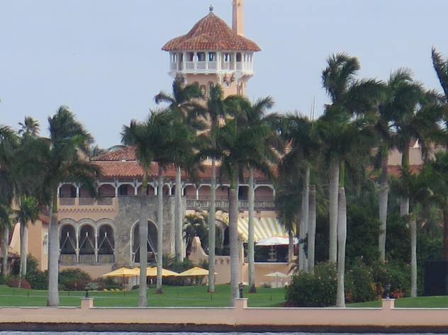 The town attorney in Palm Beach, Fla., John Randolph, says former President Donald Trump can legally reside at Mar-a-Lago full-time.