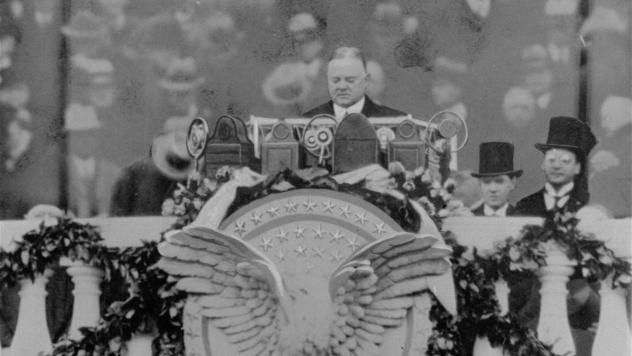 An undated photo of President Herbert Hoover, whose term as president ran from 1929 to 1933. He railed against short sellers after the market crash of 1929.