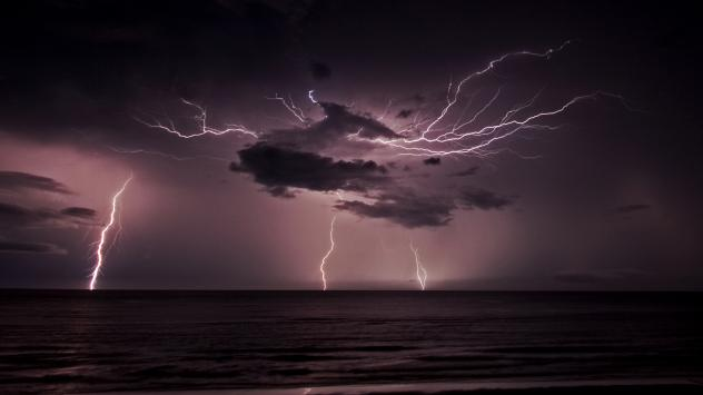 Lightning may play have played a key role in the emergence of life on Earth.
