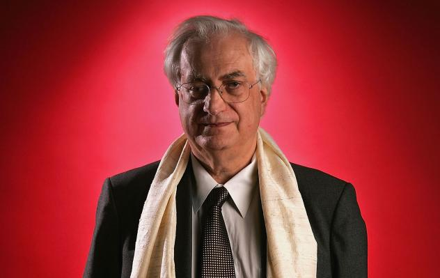 Bertrand Tavernier poses for a portrait at the City of Lights, City of Angels Film Festival in Los Angeles on April 11, 2005.