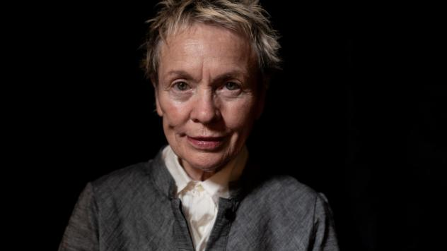 Laurie Anderson, an artist and performer whose work spans disciplines, channels her emotional past into transformative art.