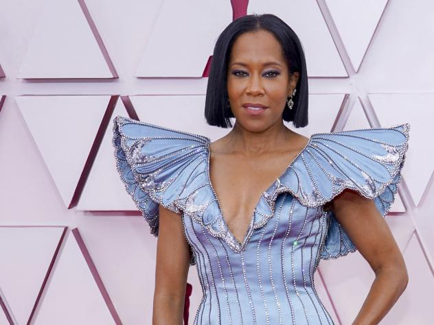 Regina King attends the 93rd Annual Academy Awards.