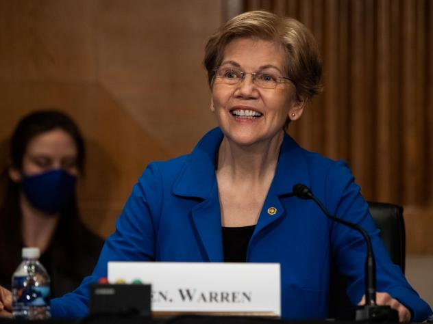 Sen. Elizabeth Warren, a Democrat from Massachusetts, still has a Plan for That and much to discuss in her new book.