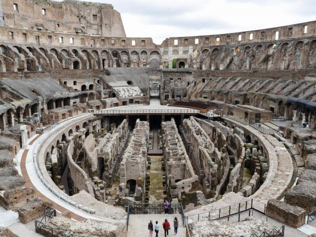 Italian officials have announced a project to build and install a high-tech, retractable floor inside the ancient Roman Colosseum by 2023, some two centuries after archaeologists removed the arena's stage.